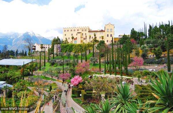 Gärten Schloss Trauttmansdorff - die schönsten Gärten Italiens